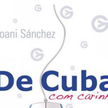 """Livro do Mês: """"De Cuba, com carinho"""" (Yoani Sánchez)"""