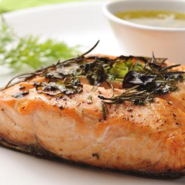 Receita de salmão com batata