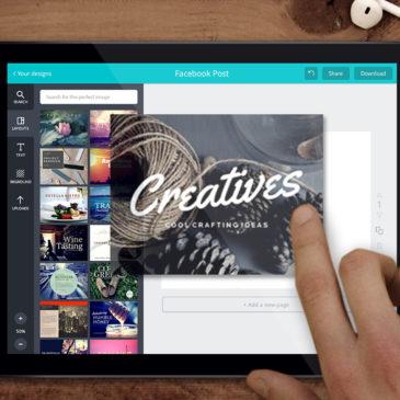 Dica para Bloggers: Canva te ajuda a criar imagens profissionais