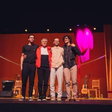Show Caetano Moreno Zeca Tom Veloso no Circo Voador
