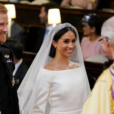 Lembranças do Casamento Real de Meghan e Harry são leiloadas na Internet