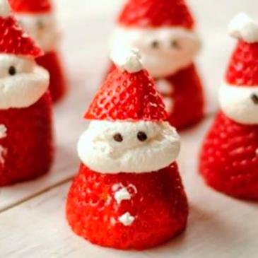 Morango Papai Noel: receita de sobremesa para o almoço de Natal